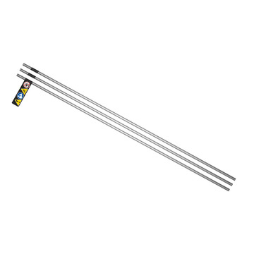 High Pressure 3 pk. of 2 ft. Stainless Steel 3/8 in. Tubes