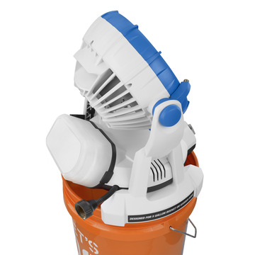 18v Bucket Top Misting Fan Products Arctic Cove