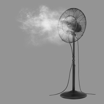 18 In 3 Speed Oscillating Misting Fan Products Arctic