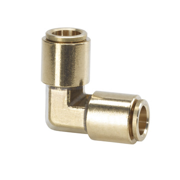 3/8 in. Brass Slip Lock Elbow Connector